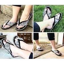 Bedroom Shoes For Womens Women U0027s Open Toe Memory Foam Flip Flop Slippers Faux Cashmere