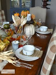 christmas before thanksgiving easy no sew napkins and runner thankful at home blog tour