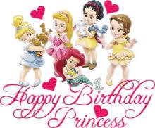 Birthday Princess Meme - disney princess happy birthday gifs tenor