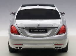 maybach 2015 highly detailed autoart maybach mercedes s klasse silver s600