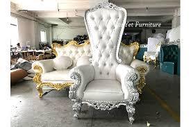 King Chair Rental 2017 Wholesale White High Back King Throne Chair Rental Buy King