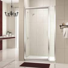 Infold Shower Door Merlyn 8 Series 1150mm Pivot Infold Shower Door With Inline Panel