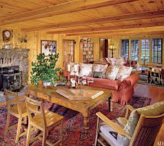 cabin style homes how to elegantly style a log home photos architectural digest