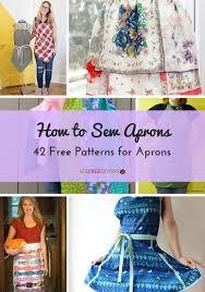 adjustable kitchen apron allfreesewing com