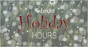 ups schedule lexjet