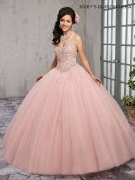 quinceanera dresses pink beaded strapless quinceanera dress by s bridal m4q1006 abc