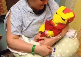 Iron Man Halloween Costume Toddler Father Creates Iron Man Costume U0027help Premature Son Feel