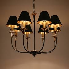 Country Style Chandelier American Country Style Chandelier Chandelier Retro Copper