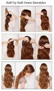quick hairstyles for long hair at home 60 simple diy hairstyles for busy mornings romantic hairstyles
