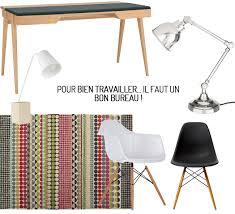 chaise bureau habitat inspiration bien aménager bureau frenchy fancy