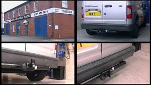 ford transit connect witter towbar youtube