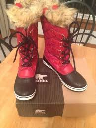 sorel tofino womens boots size 9 s sorel tofino cvs nl 1779 601 chili pepper black size 9