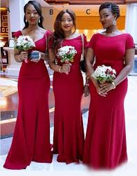 wedding dresses for of honor 2017 bridesmaid dresses satin sleeves