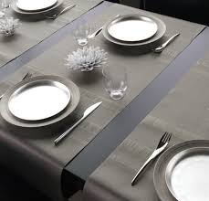 table setting runner and placemats chilewich tuxedo stripe placemats table runners