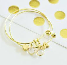 monogram bracelets gold monogram bracelets s jewelry tiaras novelty