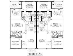floor plans for craftsman style homes duplex designs floor plans one level duplex craftsman style floor