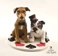 cake topper with dog my custom cake topper