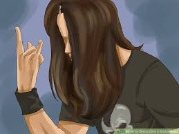 metal hair how to dress like a metal 8 steps with pictures wikihow