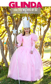 wizard of oz wicked witch child costume glinda the good witch from