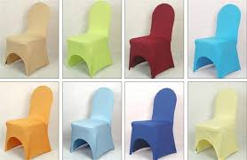 wholesale spandex chair covers fashionable design direct factory made wholesale custom wedding