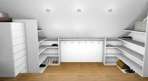 decoration chambre comble avec mur incliné chambre deco chambre sous pente dressing sur mesure sous pente