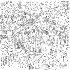 zoo coloring pictures 9130