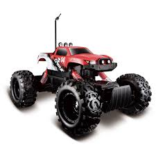 rc monster jam trucks for sale maisto tech crawler radio controlled vehicle walmart com