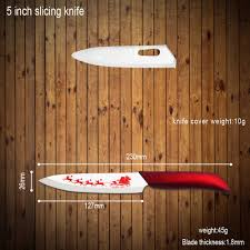 best ceramic knife 5 inch slicing knife xyj brand christmas
