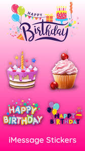 birthday stickers best birthday stickers bundle for wishes party celebration with