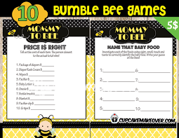 bumblebee baby shower bumble bee baby shower package instant