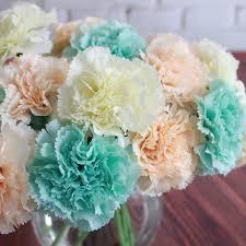 flowers free shipping graceful 6 carnation flower bouquet flower wedding flower