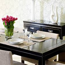 black lacquer extending dining table dining tables