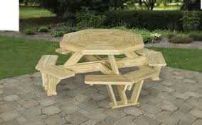 Designer Wooden Garden Bench by Outdoor Wood Furniture Octagonal Table Design Online Meeting Rooms