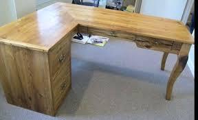 Solid Wood L Shaped Desk L Shaped Wood Desk Kendamtbteam
