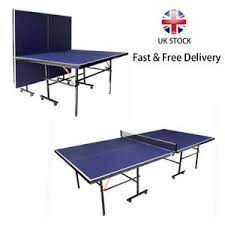What Are The Dimensions Of A Ping Pong Table by Folding Removable Table Tennis Ping Pong Table Blue Standard Size