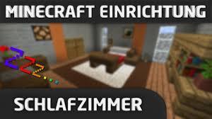 Ein Schlafzimmer Einrichten Minecraft Einrichtung Schlafzimmer Youtube