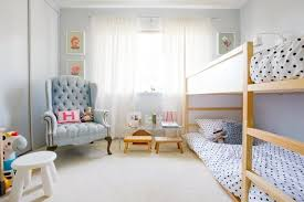 Mini Bunk Beds Ikea Kura For Two Using Ikea S Low Loft As A Bunk Bed Apartment Therapy