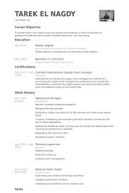 Retail Supervisor Resume Sample by Warehouse Manager Resume Samples Visualcv Resume Samples Database
