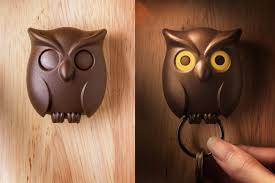 owl item night owl key holder by qualy brown furniture u0026 home décor