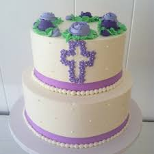 flower fondant cakes christening and communion cakes catering sussex county nj