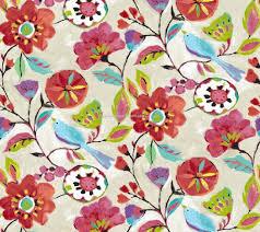 Upholstery Fabric Edinburgh Dahlia In Rainbow By Edinburgh Weavers Curtain Fabric Store