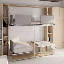 T Shaped Bunk Bed Pensiero T Wall Bunk Bed Table Bed Table Wall Daily
