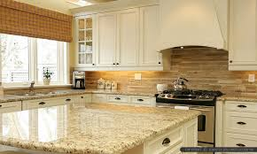 backsplash ideas for white kitchen cabinets granite countertop wood stained cabinets hotpoint integrated