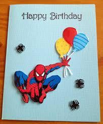 card invitation design ideas spiderman birthday card simple and