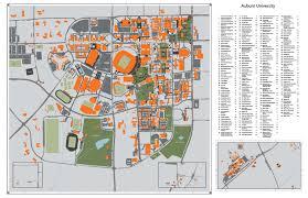 Clemson Campus Map Auburn Campus Map My Blog