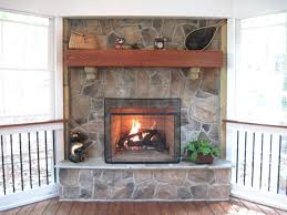 fireplace amusing rocks for gas fireplace for home design