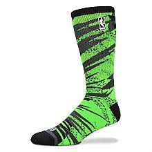 for bare nba logoman camo fade sock s basketball