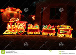 christmas train stock photos image 3788993