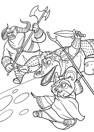 master shifu from kung fu panda coloring pages for kids printable