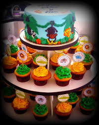 safari jungle themed cake and cupcakes baby shower cake ha u2026 flickr